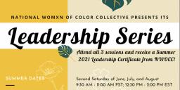 Summer 2021 Leadership Series